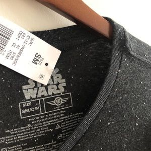 Star Wars Shirts - NWT Star Wars The Empire Strikes Back Speckled Tee